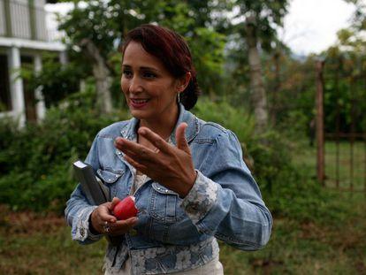 Responsable de ARDECANC, una alianza agrícola en Santander, Colombia.