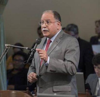 Jose Medina, en una sesión de la Asamblea.