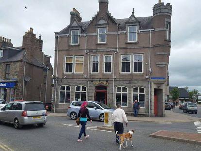 Inverurie (Escocia), en una imagen tomada este viernes.