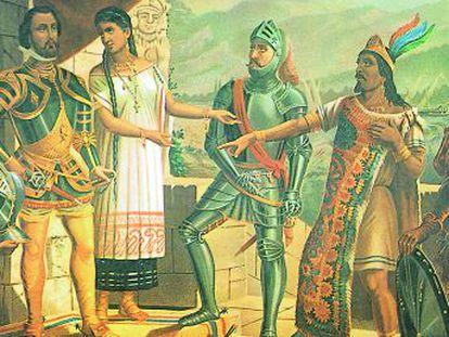 Federico Acosta y Maria Fernanda Olivera, decimocuarta generación de la realeza azteca, renuncian al dinero de su linaje. Sólo quieren que les hagan caso