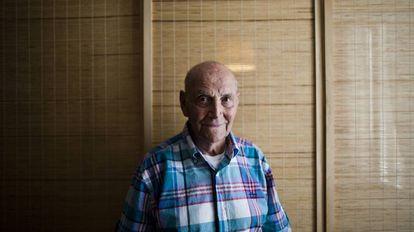 El poeta Marcos Ana en una foto de archivo.