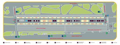 Plan de la Feria del Libro de Madrid 2021