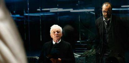 Anthony Hopkins en 'Westworld'.