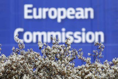 Cartel de la Comisión Europea.