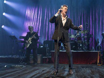 Bryan Ferry, en el festival de Montreux, el pasado 9 de julio.