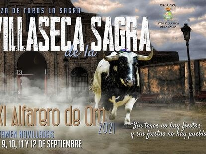 Cartel anunciador del certamen Alfarero de Oro.