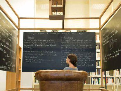 Immersión del edificio del Instituto Henri Poincaré en el espacio R³ /Z³ . Pierre Berger, Vincent Martial and Jimena Royo-Letelier, 2017