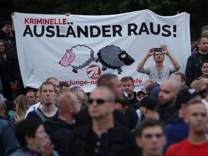 Sajonia es el escenario desde el que la ultraderecha xenófoba y antisistema busca mostrar su asalto al país
