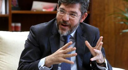 Alberto Nadal, secretario de Estado de Presupuestos, durante la entrevista.