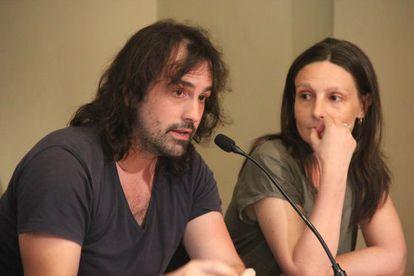 El cineasta Isaki Lacuesta y la aquitecta Je4lena Prokopljevic.