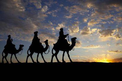 Los Reyes Magos.