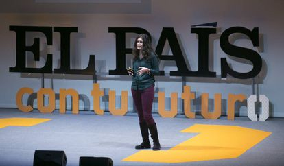 La experta en computación cuántica Alba Cervera, en 'EL PAÍS con tu futuro'.