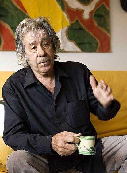 Paco Ibáñez, en su casa de Barcelona.