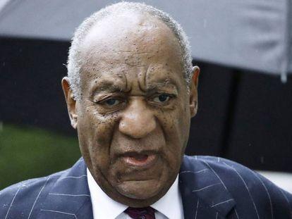 Bill Cosby, el pasado mes de septiembre, momentos antes de ser condenado.