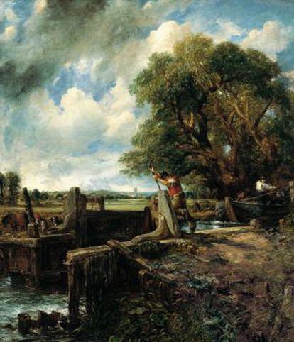 'La esclusa' (1824), de John Constable.