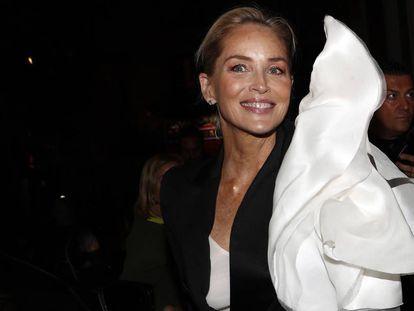 Sharon Stone, en Madrid, el pasado mes de noviembre.