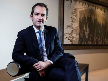 210621. Javier Muñoz, nuevo secretario del Consejo de PRISA MEDIA. FOTO: Carlos Rosillo