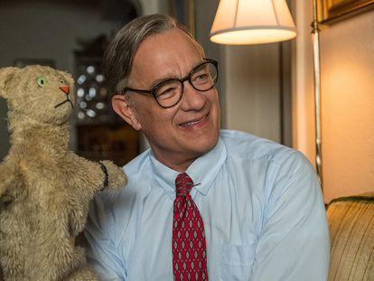 Tom Hanks, en 'Un amigo extraordinario'.