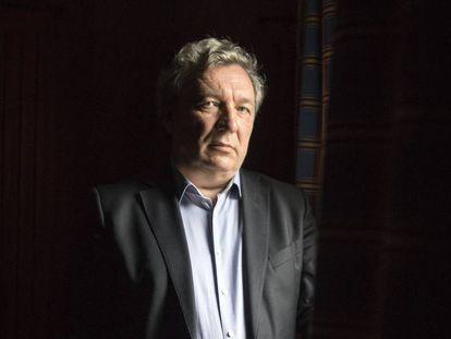 Viatcheslav Mukhanov, después de la entrevista.
