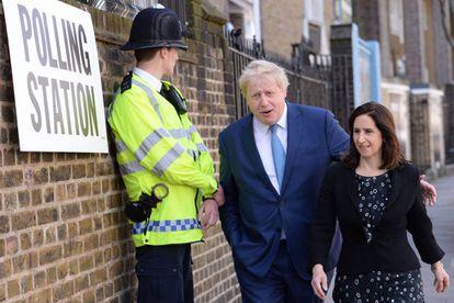 El alcalde saliente de Londres, Boris Johnson.