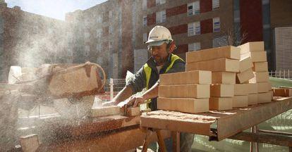 El sector de la construcción recobra protagonismo en la economía española.