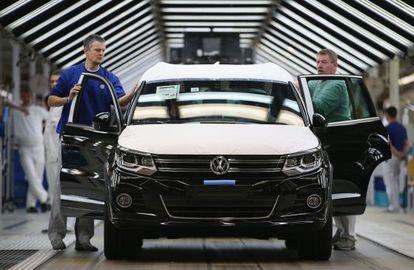 La planta de Volkswagen en Wolfsburg (Alemania)