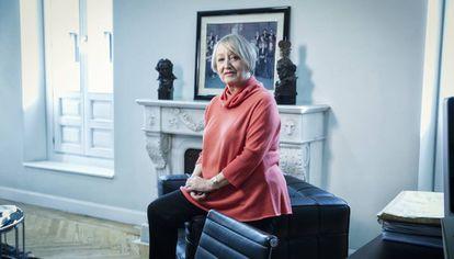 Yvonne Blake, en su despacho en la Academia de Cine, el pasado martes