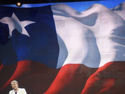 Michelle Bachelet inauguró las Fiestas Patrias de Chile en la fonda (ramada) oficial