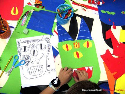 Algunas de las propuestas de la ilustradora Daniela Martagón.