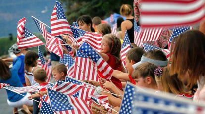 Desfile del 4 de julio en Arizona, EE UU.