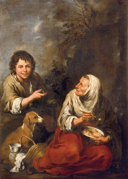 Obra 'Vieja gitana con niño' de Murillo, conservado en el Museo Wallraf-Richartz de Colonia tras pasar por diversas colecciones privadas