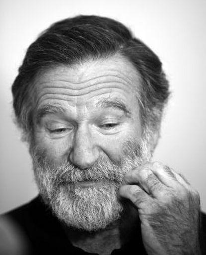 El actor Robin Williams.