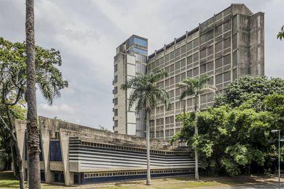 El edificio de la facultad de Arquitectura fotografiado en 2016.  
