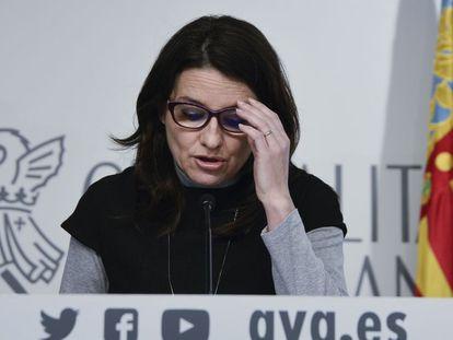 Mònica Oltra, vicepresidenta de la Generalitat valenciana.