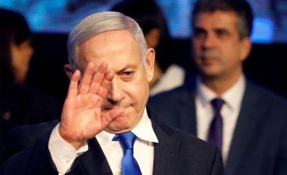 El primer ministro israelí, Benjamin Netanyahu, en Tel Aviv, el pasado 17 de noviembre.