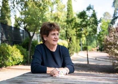 Mercedes Arce, vecina de Chamberí y miembro de la asociación Parque Sí.