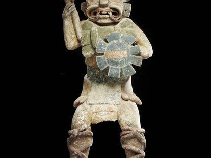 Escultura precolombina falsa subastada en París en 2011 por 2,9 millones de euros.