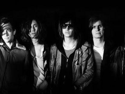 El grupo de rock The Strokes, en una imagen promocional.