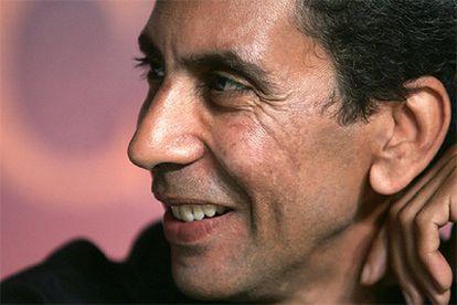Rachid Bouchareb, director de <i>Indígenas</i>, ayer en Cannes.
