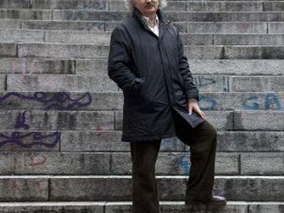 Antonio Colinas, en Salamanca.