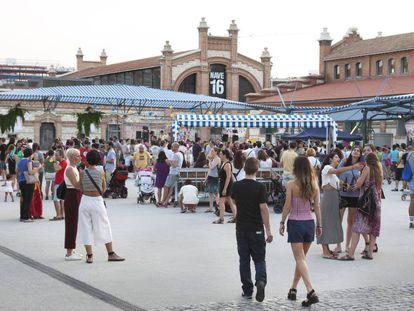 Actividad en el Matadero de Madrid, en una imagen de archivo.