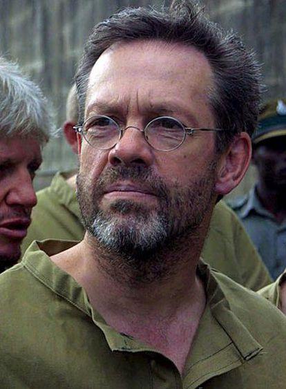 Fotografía de archivo sin fechar facilitada el 13 de abril de 2007 que muestra al mercenario británico Simón Mann en Harare