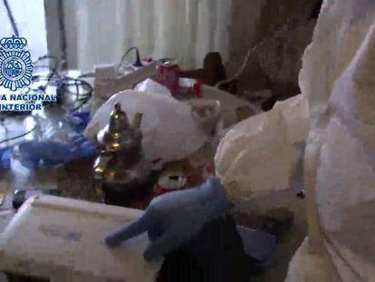 La policía halla explosivos en un zulo de marroquíes en Albacete
