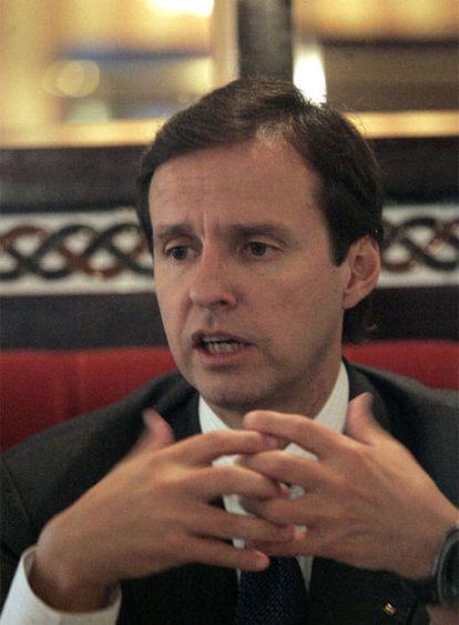 El ex presidente de Bolivia Jorge Quiroga, en Madrid en 2006.