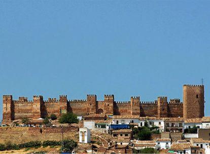 Castillo de Burgalimar de Baños de la Encina (Jaén), una de las fortalezas de la Ruta de los castillos y las batallas.