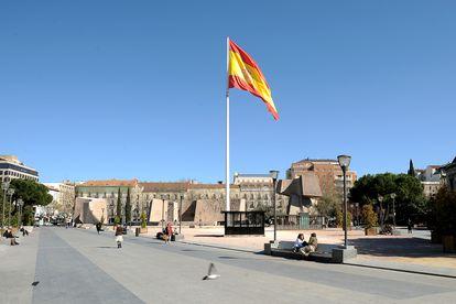 Plaza de Colón, en Madrid.