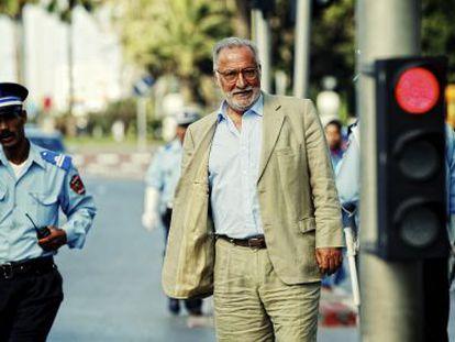 Pere Navarro en Rabat hace unas semanas.
