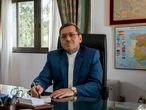 6-02-2021 Entrevista a Hassan Ghashghavi, embajador de Irán en España. Despacho oficial, distrito Chamartín. Adolfo Barroso
