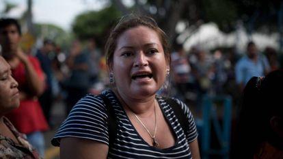 Rosario Martínez, en Managua.