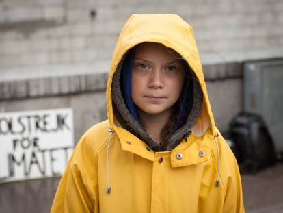 La activista sueca, Greta Thunberg.